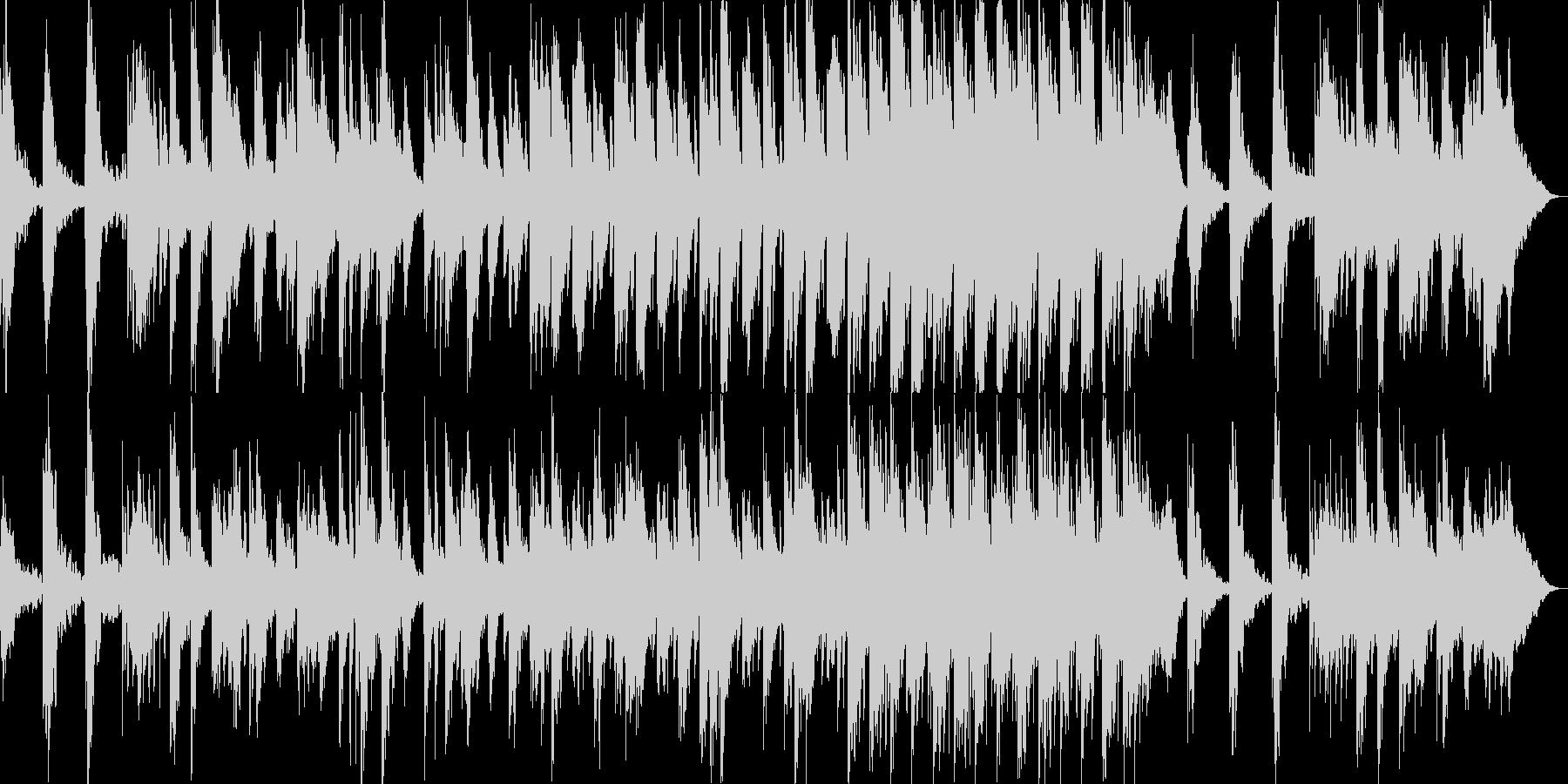 【リラクゼーション】落ち着いた映像向けの未再生の波形