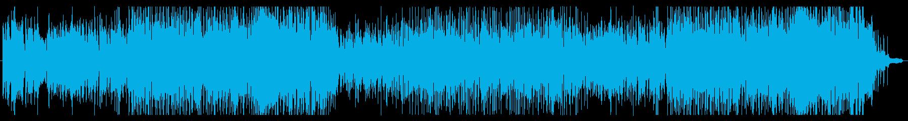 ヴァイオリンによる躍動感のあるサンバの再生済みの波形
