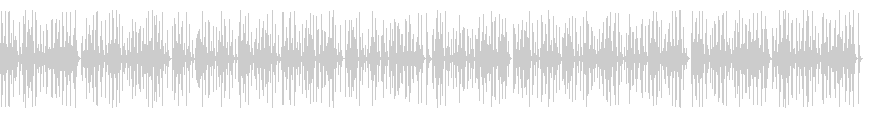 解説や作業動画に合う可愛い木琴の未再生の波形