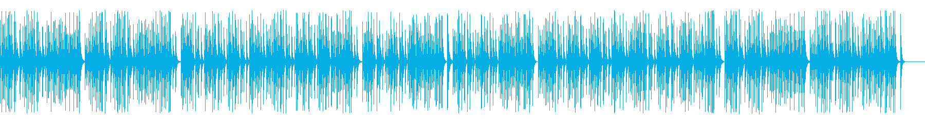 解説や作業動画に合う可愛い木琴の再生済みの波形