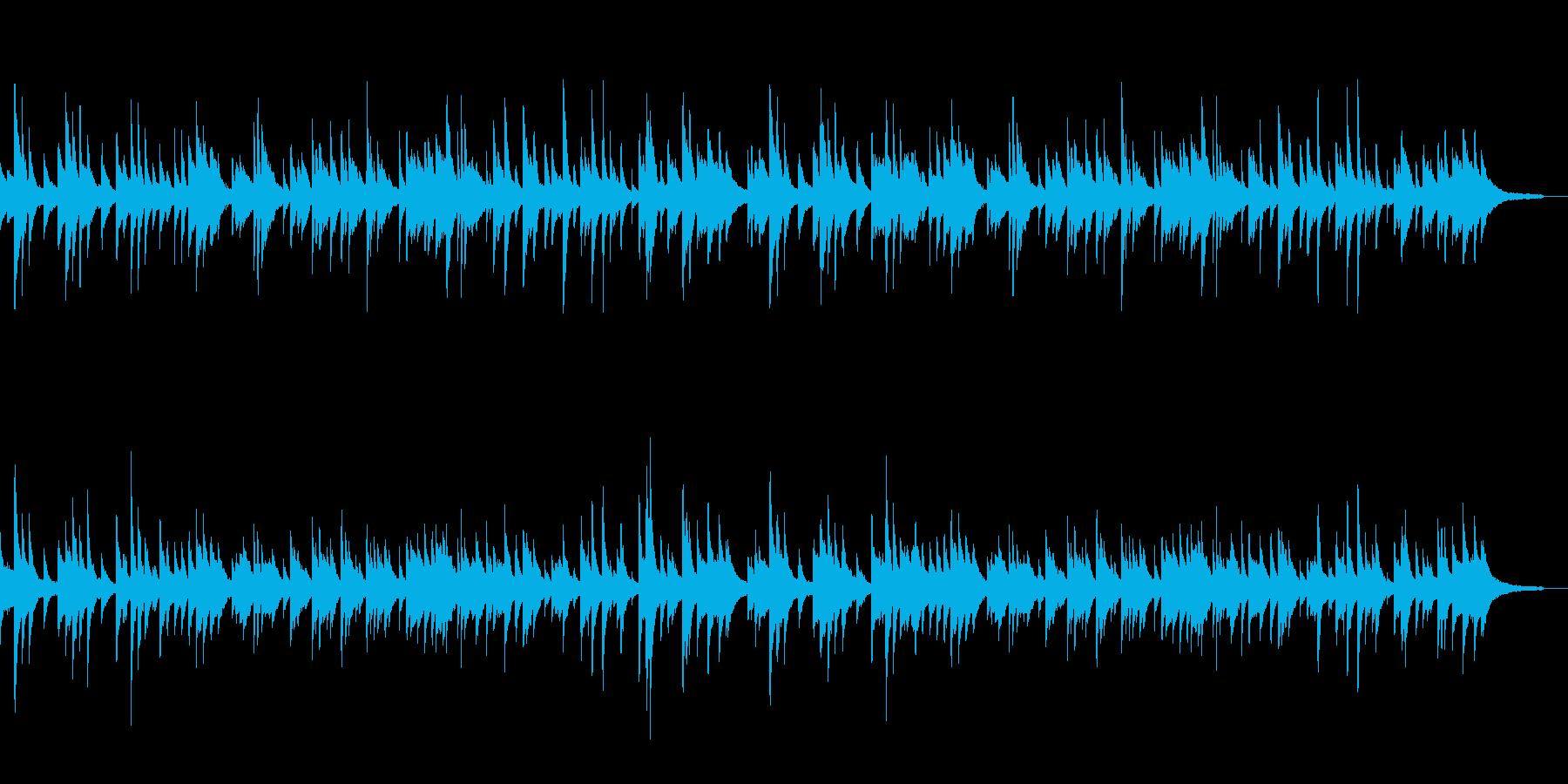 優しいメロディのピアノソロ テンポ101の再生済みの波形