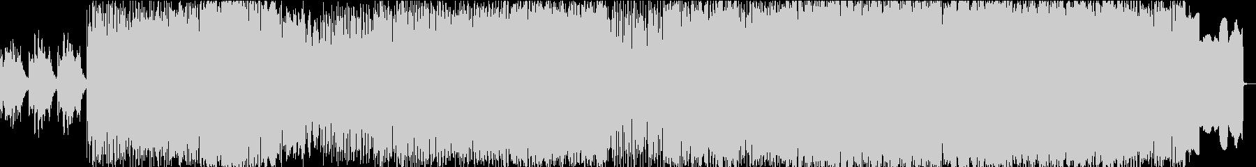 怪しいスムースダークなエレクトロニックの未再生の波形
