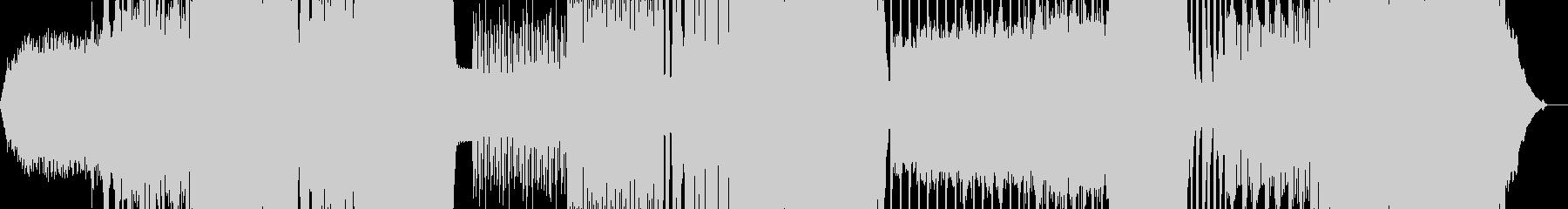 展開の多いプログレッシブデジタルロックの未再生の波形