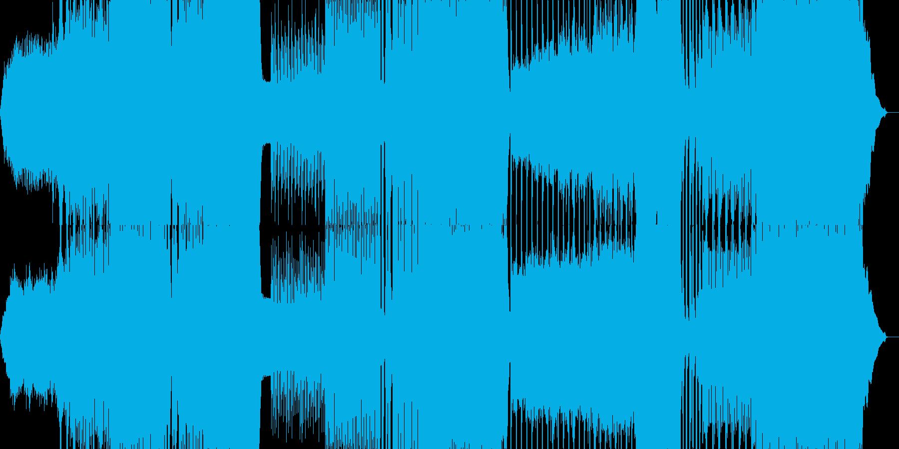 展開の多いプログレッシブデジタルロックの再生済みの波形