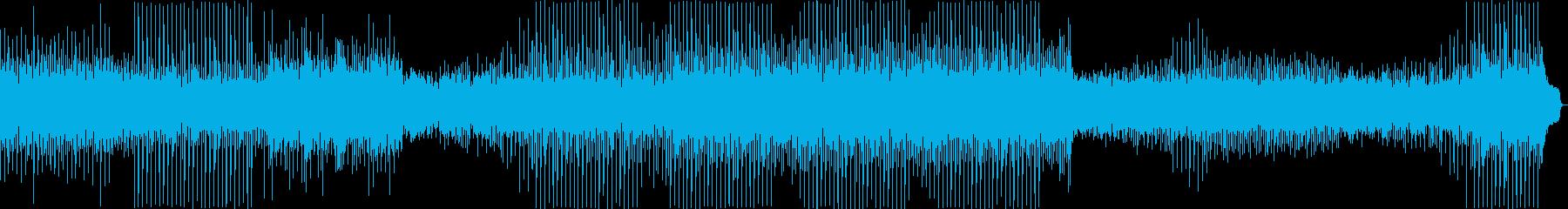 何気ない日常を描いたようなポップスの再生済みの波形