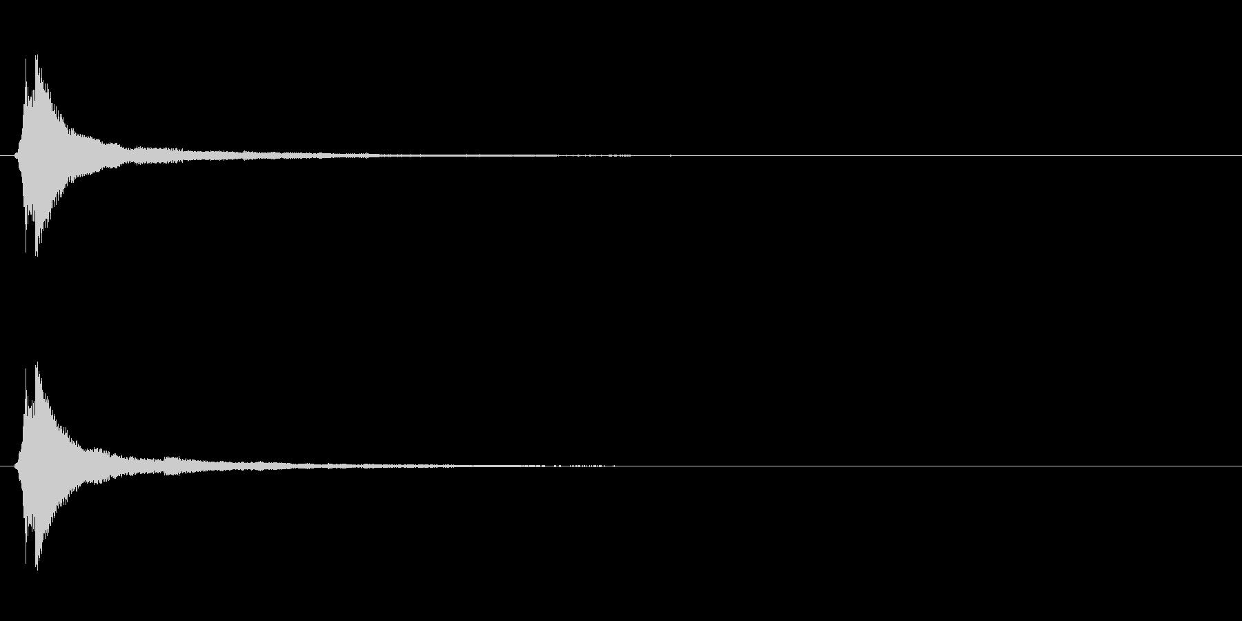 サウンドロゴ(企業ロゴ)_017の未再生の波形