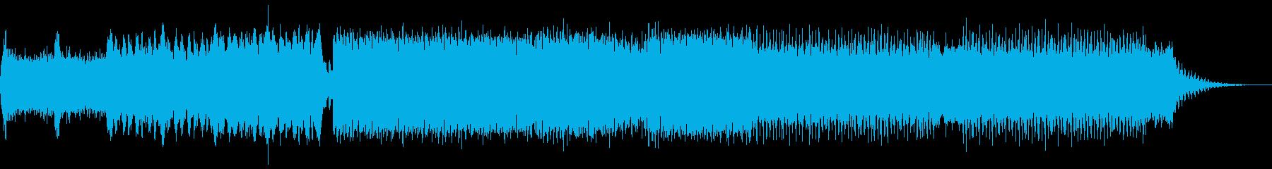 トランス。パーカッシブ、ストロング...の再生済みの波形