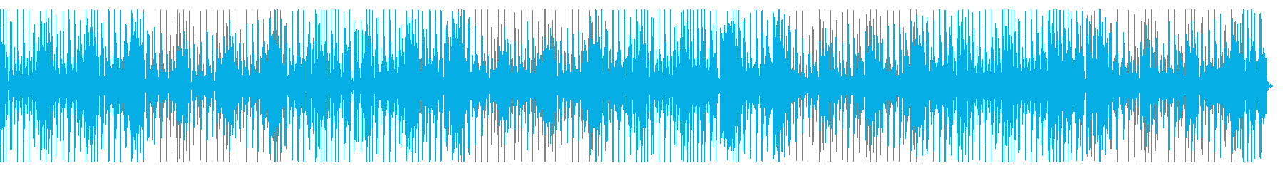 ループ仕様・ファンキーなギター&ベースの再生済みの波形