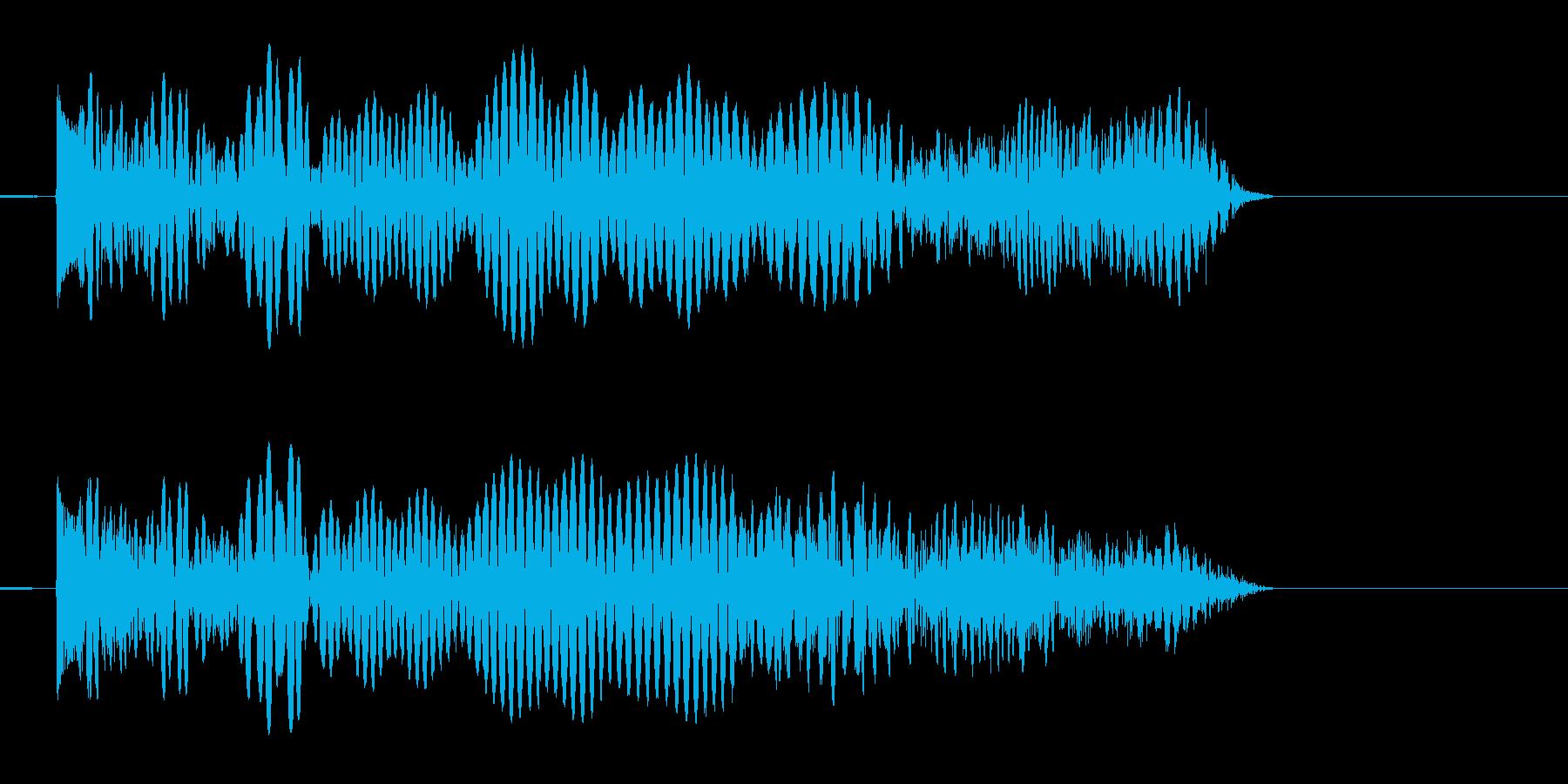 シューティング SFビーム発射音2 強めの再生済みの波形