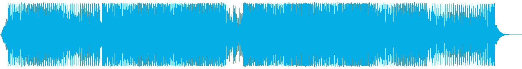 ノリのいいトランス/ハンズアップの再生済みの波形