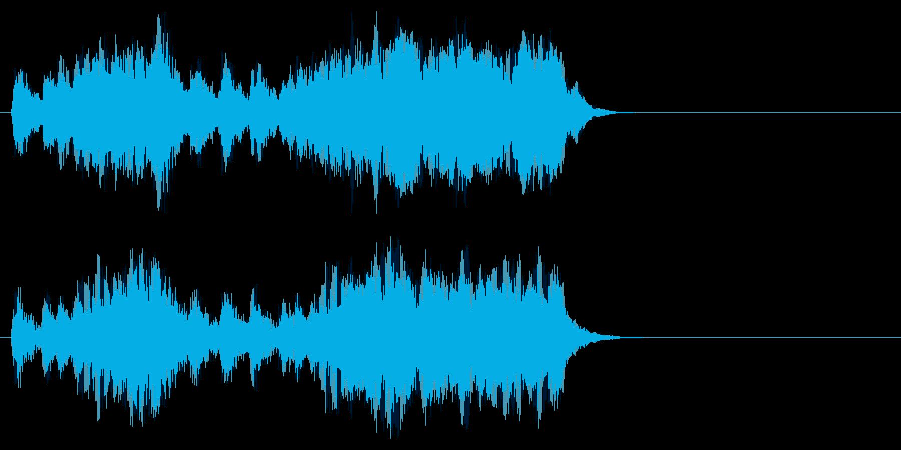 汎用06 パンパカパーン(Long)の再生済みの波形