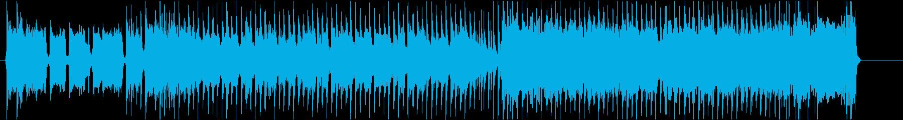 30秒 広告に!ノリノリ ギターロック!の再生済みの波形