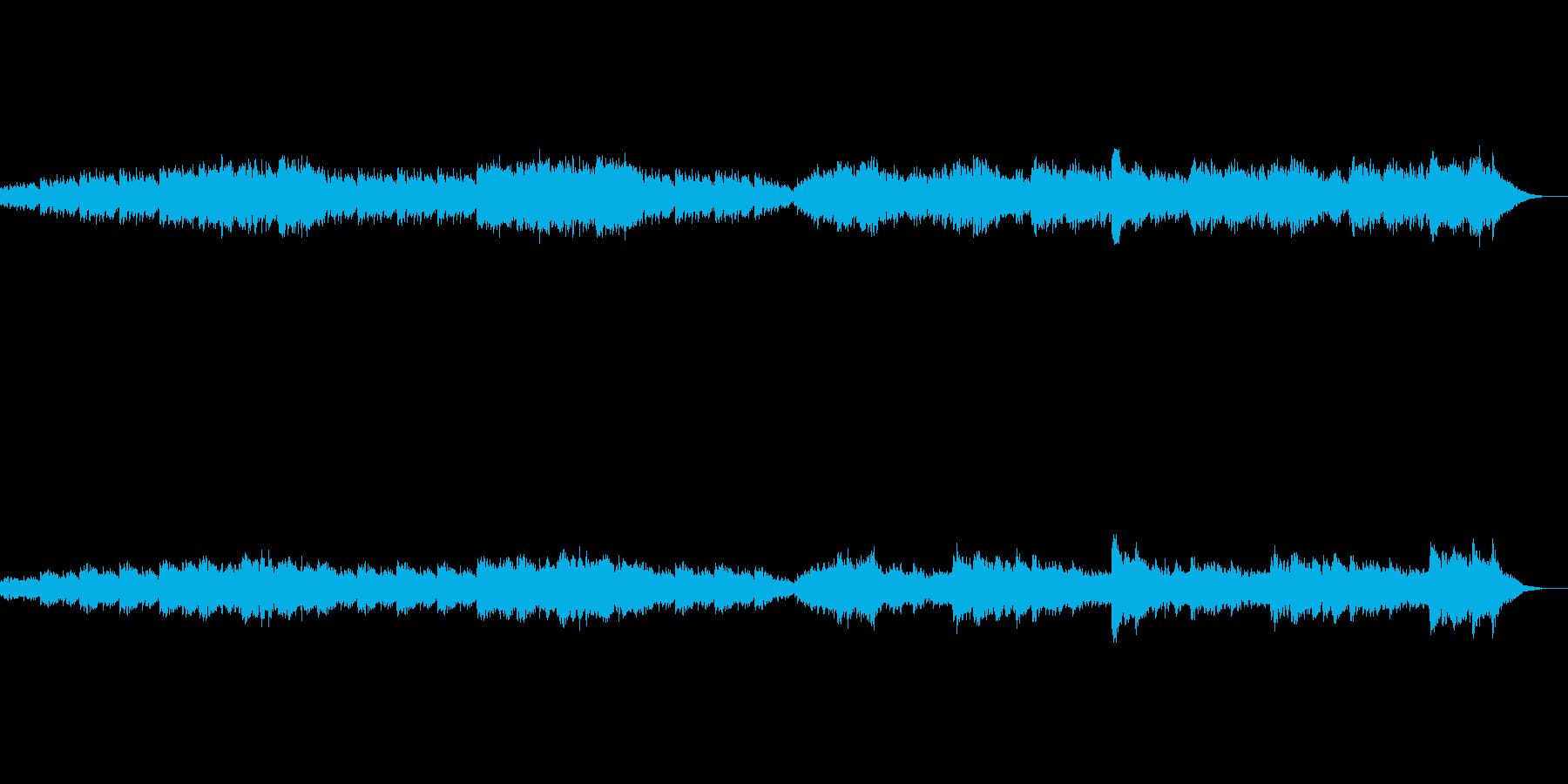 寂しく吹く秋風(ループ版)の再生済みの波形