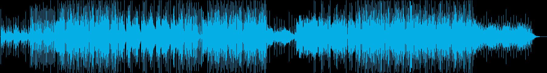 哀愁感漂うビート/トラップの再生済みの波形