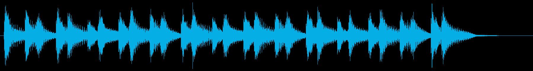 エーライヤッチャ!阿波踊り ♩145#3の再生済みの波形