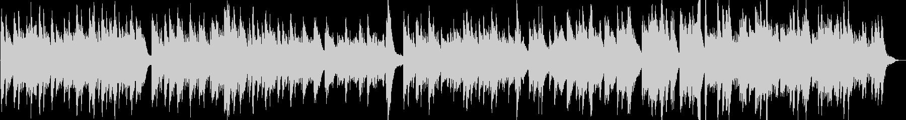 幻想的で綺麗なピアノBGM9の未再生の波形