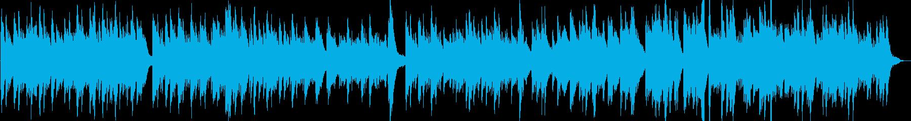 幻想的で綺麗なピアノBGM9の再生済みの波形