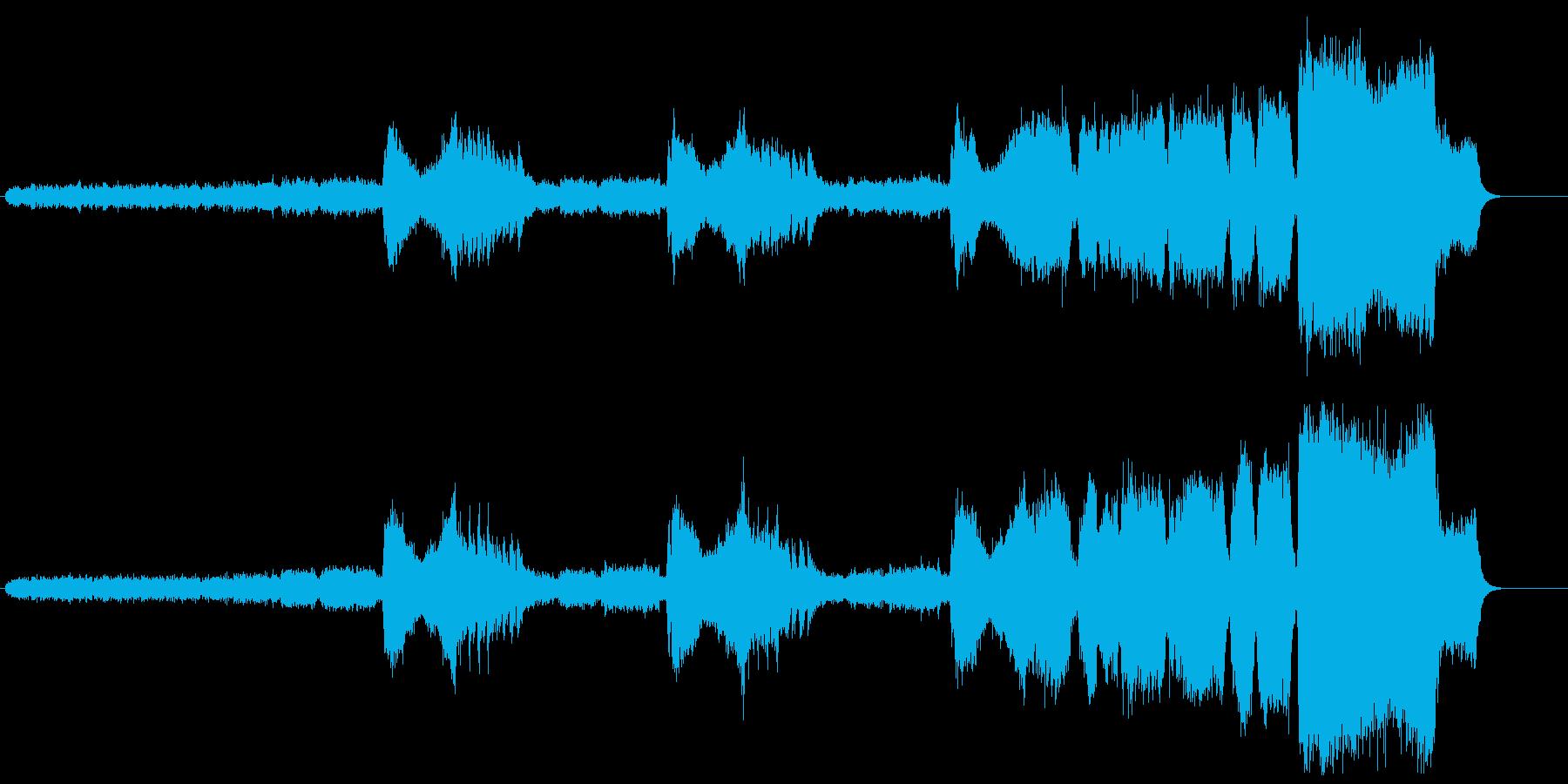 ツァラトゥストラはかく語りきの再生済みの波形