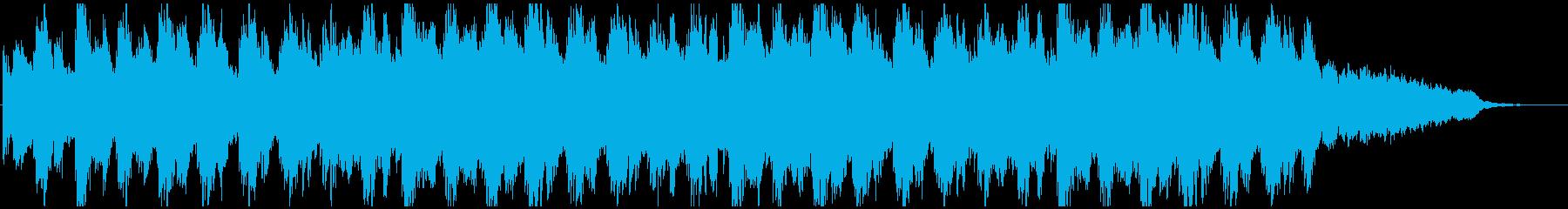 夜明け夕暮れ映像系ピアノアンビエント壮大の再生済みの波形
