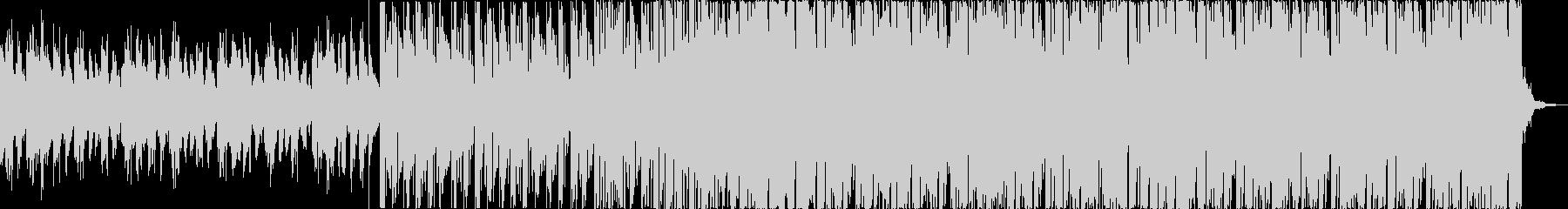 チルアウト軽快爽やかなトロピカルハウスfの未再生の波形