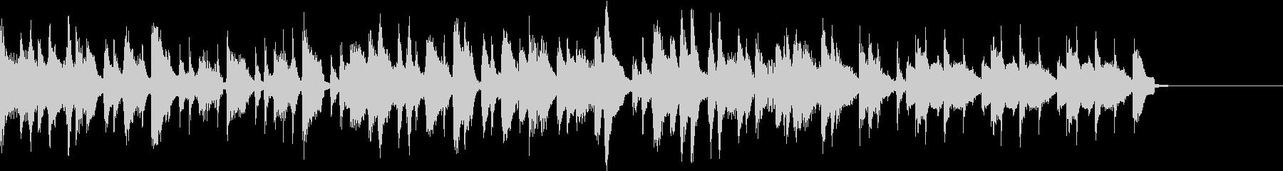 アップライトピアノのトロピカルナンバーの未再生の波形