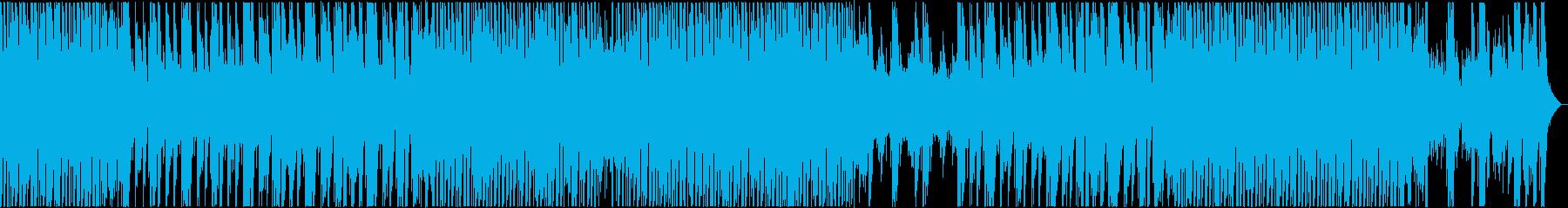 ピアノが爽やかで明るいポップなBGMの再生済みの波形
