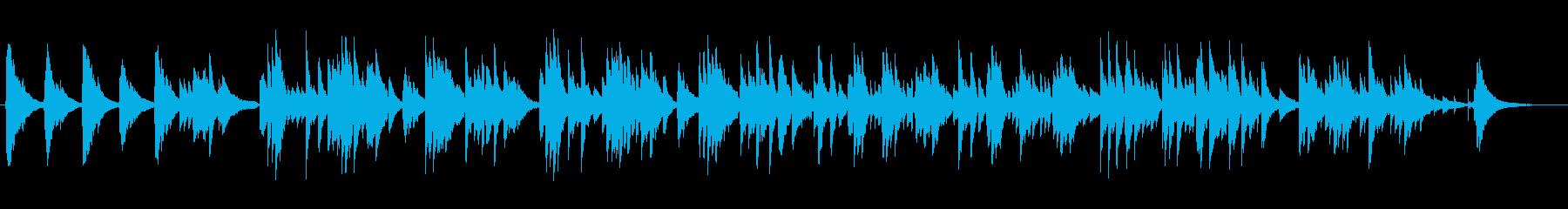 優しく癒すギターサウンドの再生済みの波形