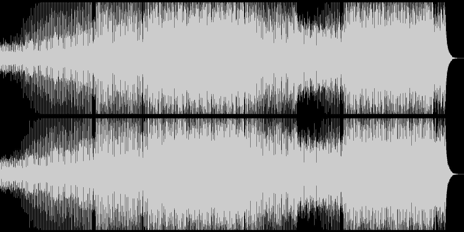 パワーダンスミュージックの未再生の波形