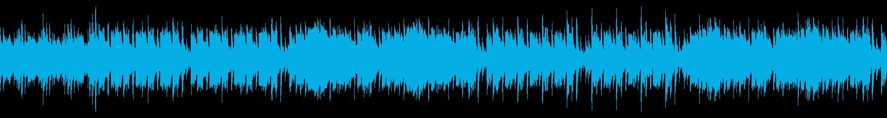 Refreshing violin / quiet karaoke / loop's reproduced waveform