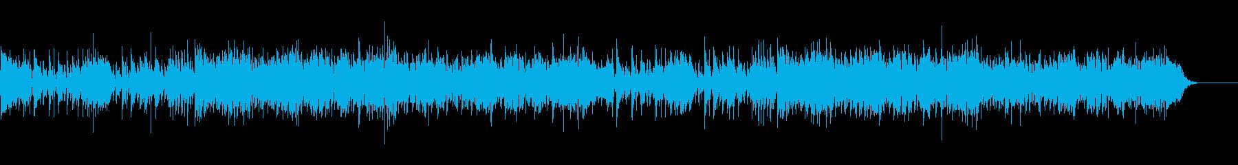 ❤都会的でおしゃれなジャズファンクの再生済みの波形