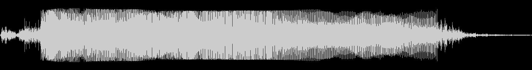 ギターメタルパワーコードzc wの未再生の波形