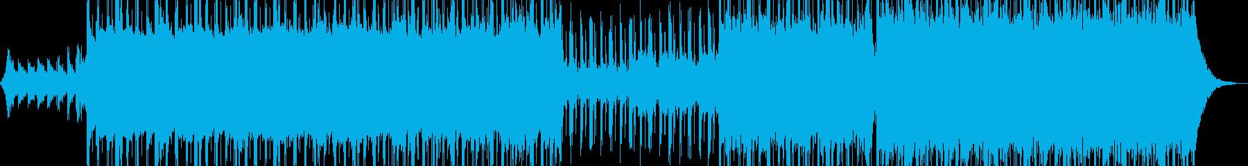 無機質でドライ・ダークなR&B Bの再生済みの波形