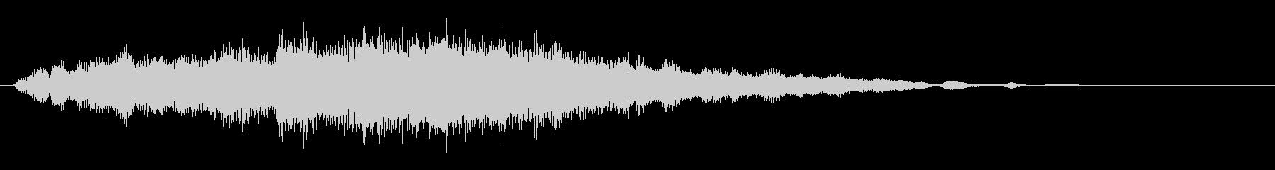 素材 ソフトハムドローンディープ02の未再生の波形
