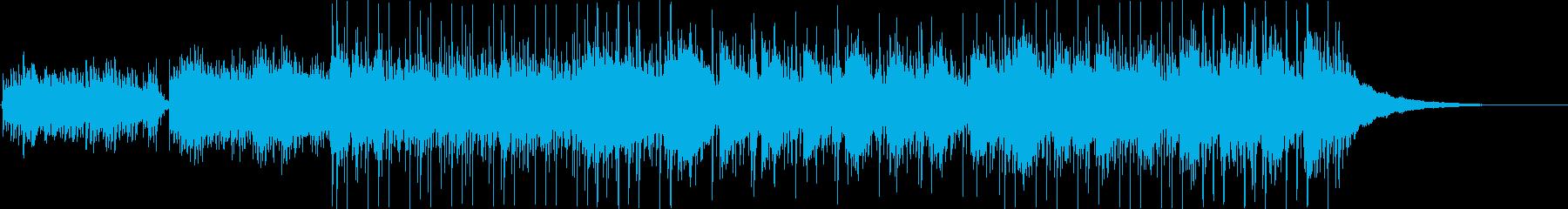 幻想的かつネイチャーなアンビエントシンセの再生済みの波形