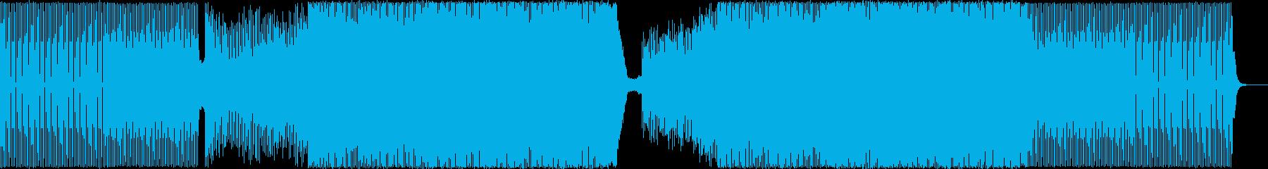 電子打楽器、拍手、エレクトリックベ...の再生済みの波形