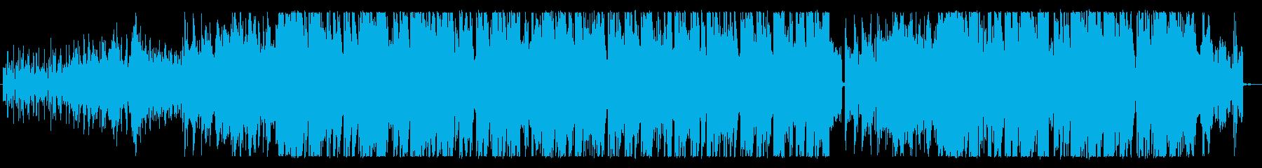 メロディアスなピアノポップの再生済みの波形