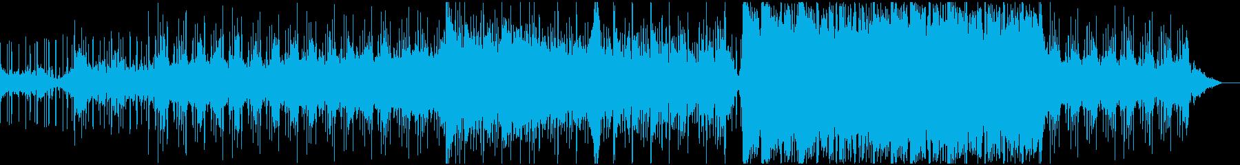 緊迫したシネマティックオーケストラの再生済みの波形