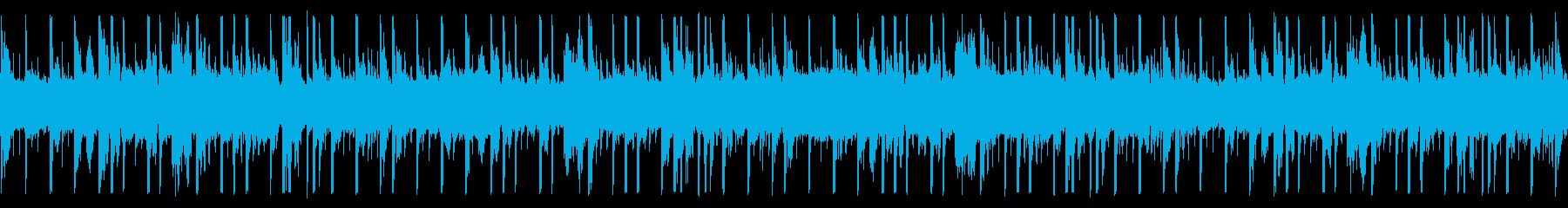 ピアノメインのHip-Hop/Loopの再生済みの波形