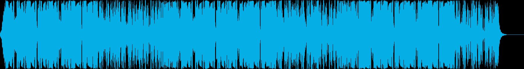 フューチャーベース4、爽やか、おしゃれAの再生済みの波形