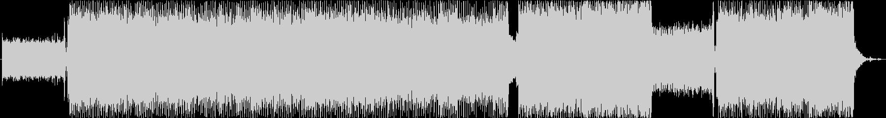 スピード感溢れるエレクトロ・ロックの未再生の波形