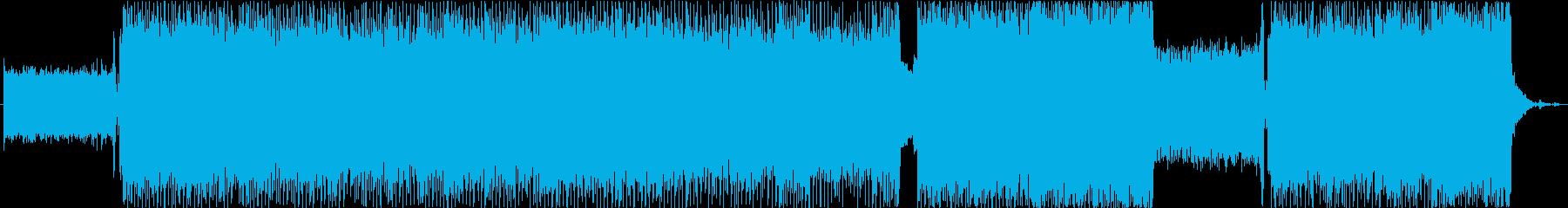 スピード感溢れるエレクトロ・ロックの再生済みの波形