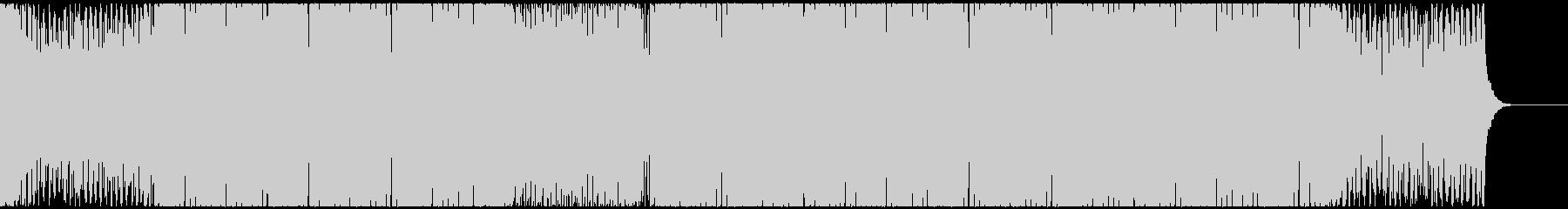 近未来的でキャッチーなディスコファンクの未再生の波形