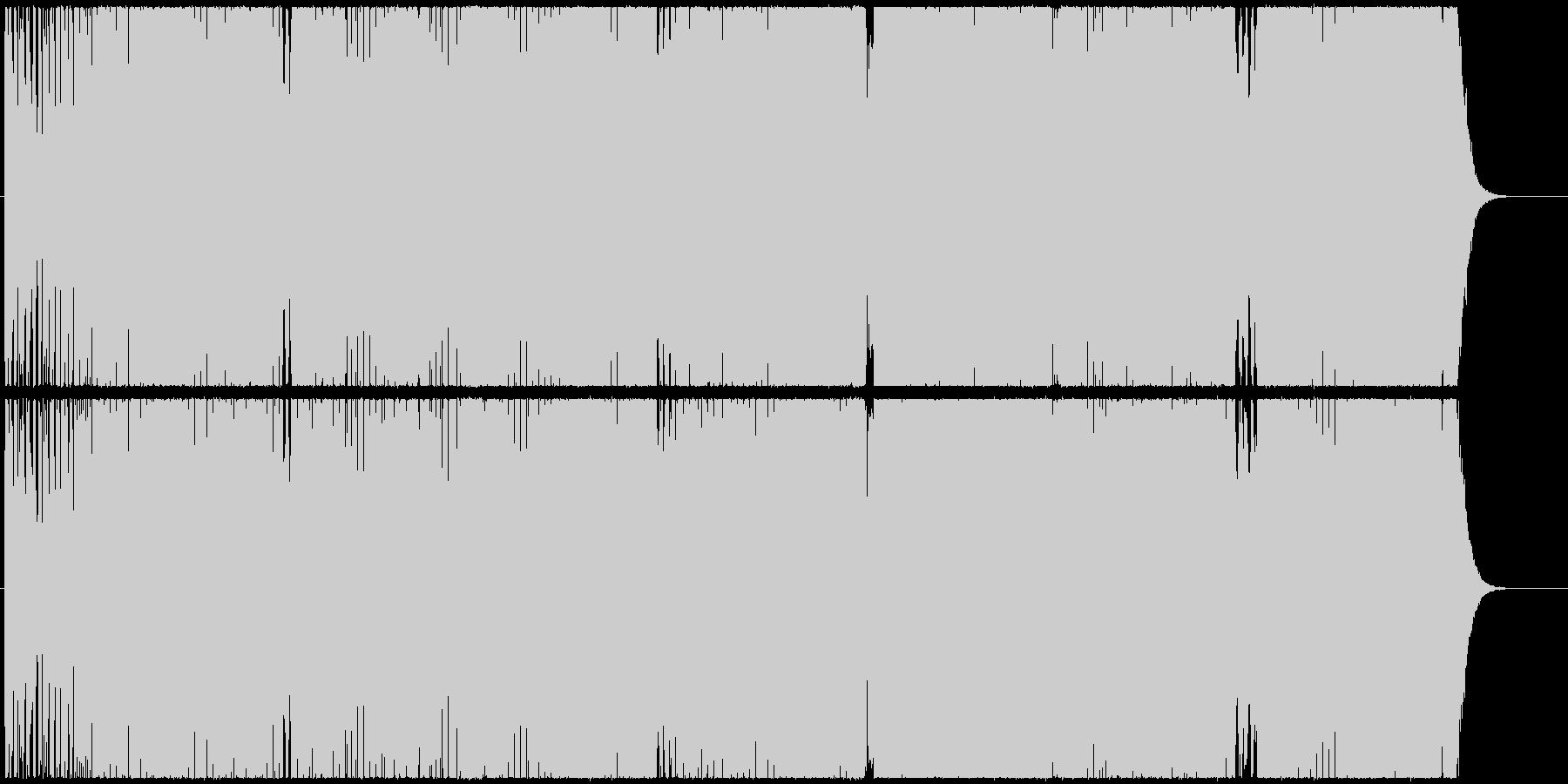 ダイナミックなシンセが躍動するエレクトロの未再生の波形