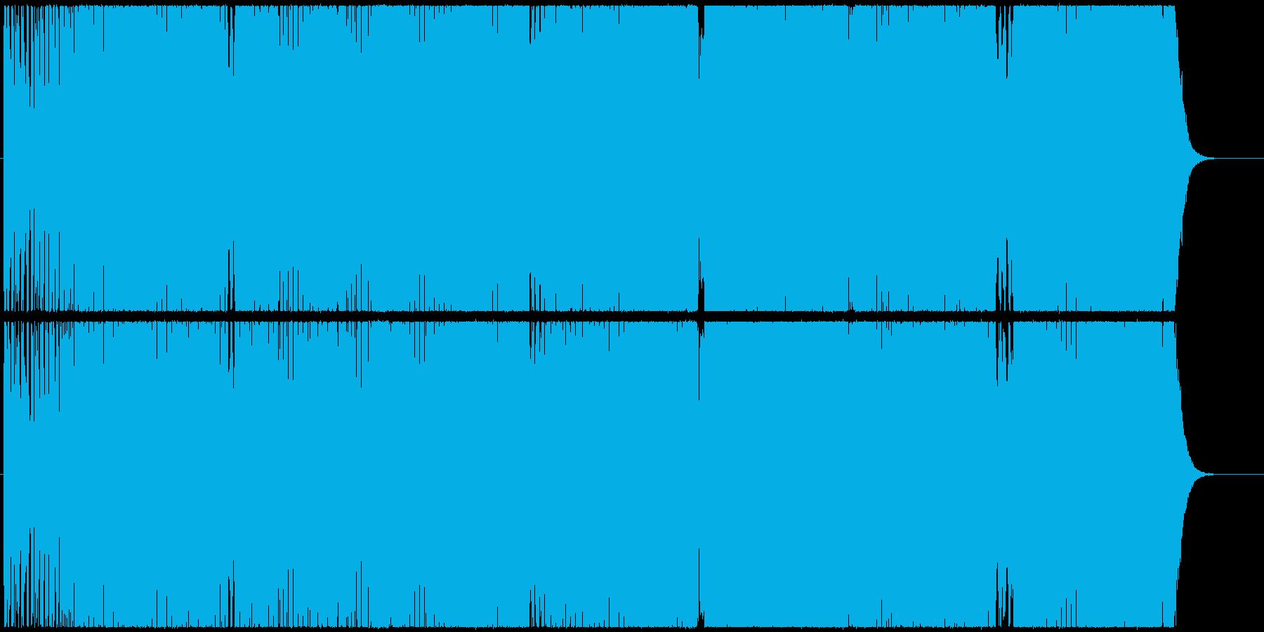 ダイナミックなシンセが躍動するエレクトロの再生済みの波形