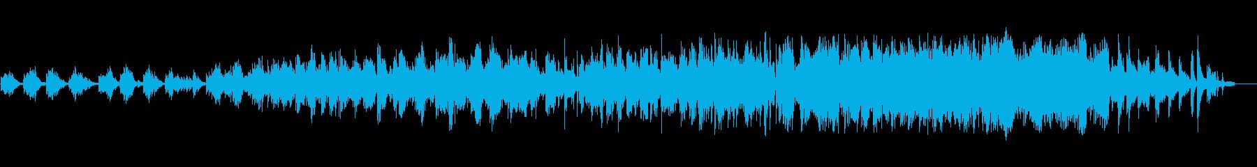 ピアノソロ。悲しい。メランコリック。の再生済みの波形