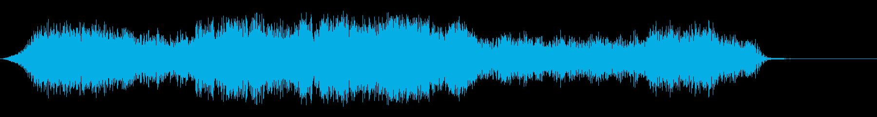 ミステリーホローの再生済みの波形