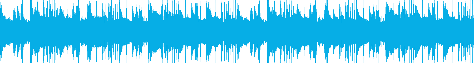 ギターのハーモニクス、ピアノ、シン...の再生済みの波形