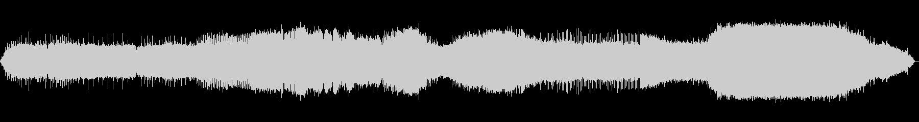 モジュラーシンセ風の電子音楽の未再生の波形