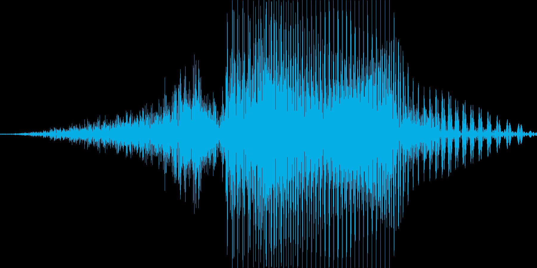 3(さん)の再生済みの波形
