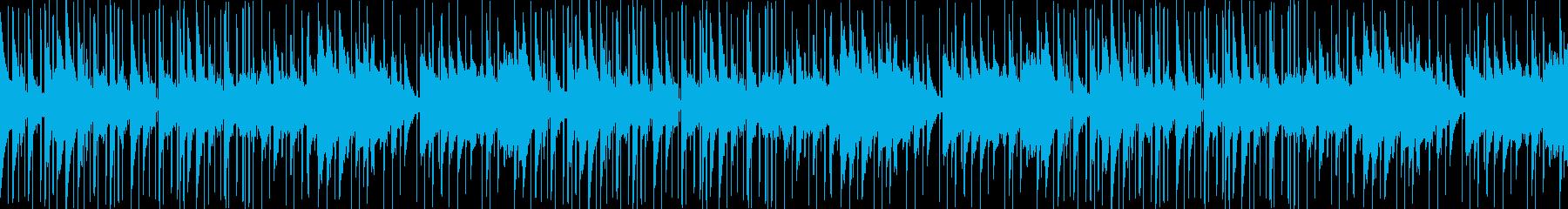 チルアウト、ピアノ、ゆったり、お洒落の再生済みの波形